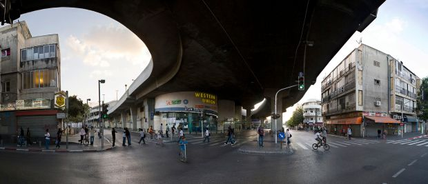 Tel_Aviv_Central_Bus_Station,_Levinsky_St.,_Neve_Sha'anan